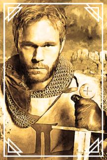 Мужчина-рыцарь