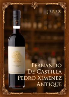 Fernando De Castilla Pedro Ximenez Antique