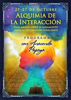 """Programa """"Alquimia de la Interacción. El viaje mágico desde el alejamiento hasta la co-creación consciente con Anaconda"""""""