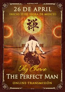 """Transmisión de práctica de """"The Perfect Man. Desarrollo de la conciencia masculina"""" online"""